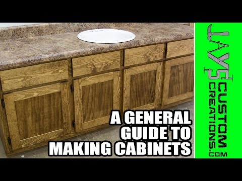 A General Guide to Making Cabinets (a Visual Guide)