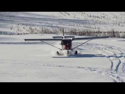 Zenith STOL CH 701 Ski Flying