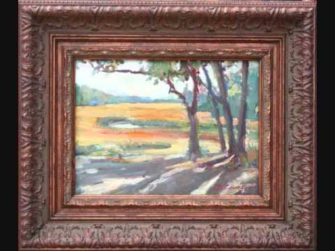Artist Dot Courson- Plein Air Paintings