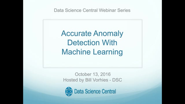 Accurate Anomaly Detection with Machine Learning