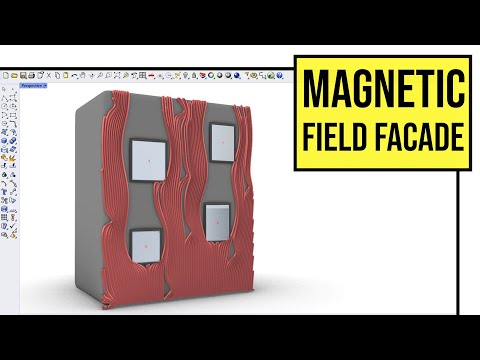 Magnetic Field Facade