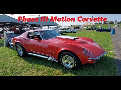 1968 Baldwin Motion Corvette Phase III At the 2021 Corvettes At Carlisle ( Motion Corvette )