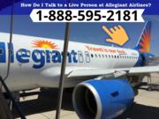 Allegiant Air Cheap Flights 1-888-595-2181   Cheap Tickets