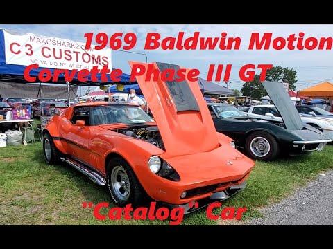 1969 Baldwin Motion Corvette Phase III GT Catalog Car