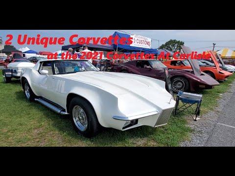 2 Unique Corvettes Radical Custom 1969 Corvette and Cooper Markette Corvette