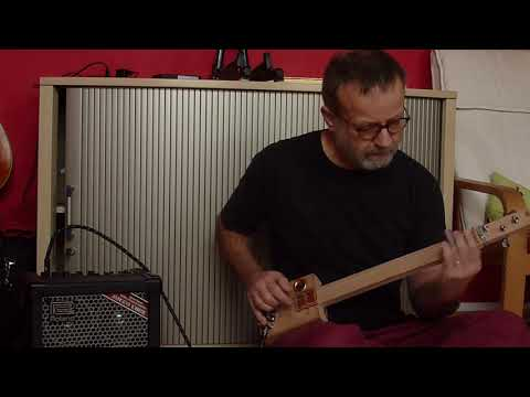 Micro Cigar Box Guitar Sound