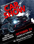 Car Show Flyer 8-23-21