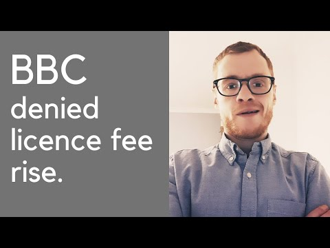 BBC denied licence fee rise. HILARIOUS