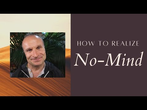No-Mind Demonstration & the 2 Steps to Realize it | Empty Mind Meditation | Pure Consciousness