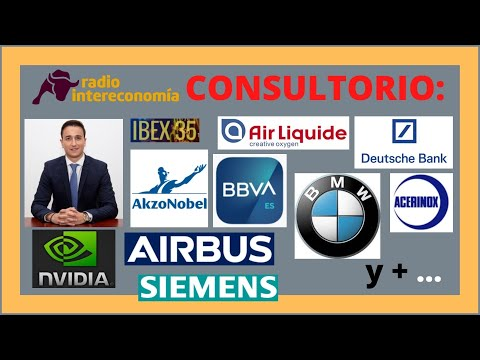 Video Análisis con Sergio Ávila: IBEX35, BBVA, Acerinox, Amazon, BMW, Siemens, Airbus...