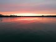 Sunrise over Ramsgate Marina