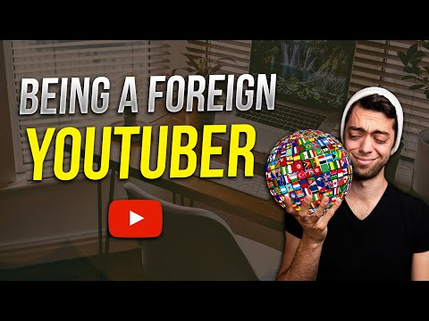 How Hard It Is To Be A Foreign Youtuber in USA?