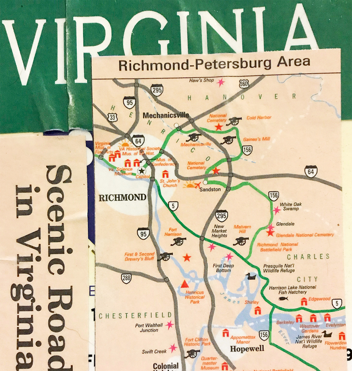 virginia collage postcard for bruno