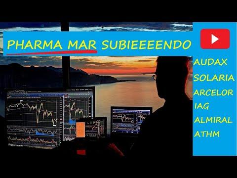 PHARMA MAR SUBIENDO EN SEPTIEMBRE, AUDAX, SOLARIA, IAG, ARCELORMITTAL,ALMIRALL, AUTOHOME ATHM