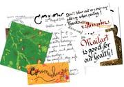 Richard Baudet mail art 9-3