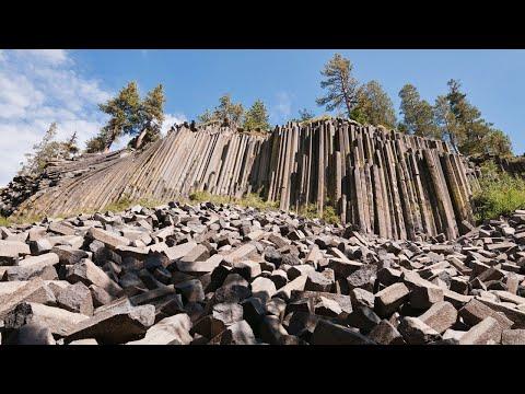The Geologic Oddity in California; Devils Postpile