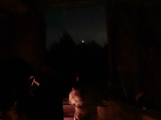 I observatoriekupolen