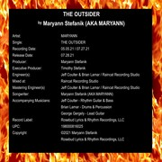 The Outsider - Liner Notes