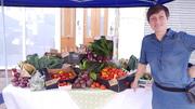 Crop Drop at Myddleton Road Market Sunday 3rd October
