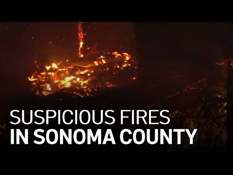 Crews Contain Multiple Suspicious Fires in Sonoma County