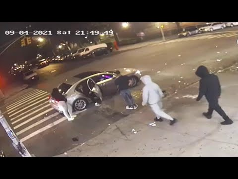 Video shows shooting that left driver, teen critically injured