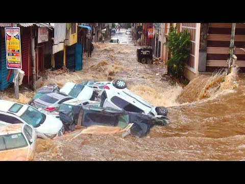 Apocalypse in Mexico! CRaZY flood destroy Ecatepec! The city is drowned!