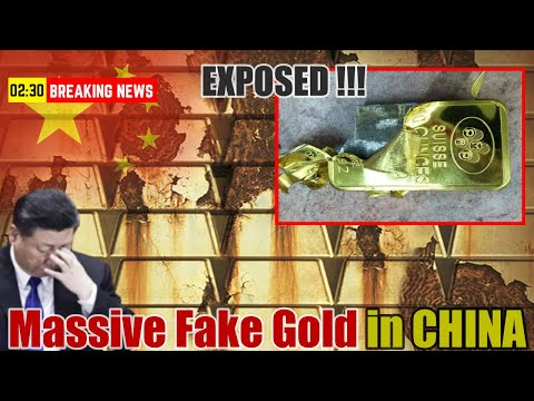 Exposed; Massive Fake Gold Fraud Exists In China | China Economy Collapse