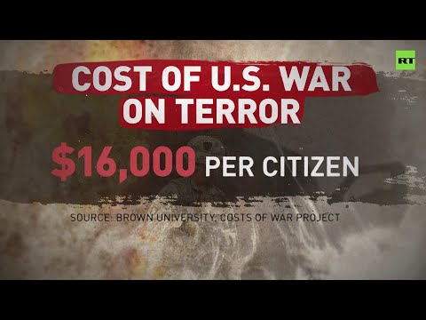 US War on Terror cost every American citizen $16,000 – study