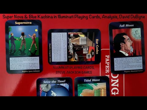 Super Nova & Blue Kachina in Illuminati Playing Cards, Analysis, David DuByne PT1