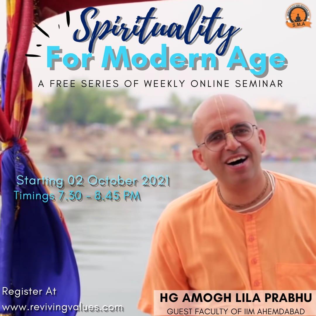 Spirituality Of Modern Age course