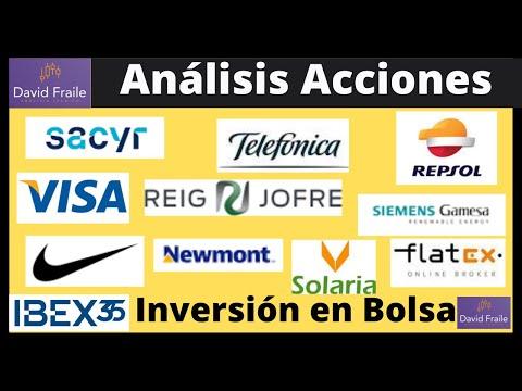Análisis Acciones: Repsol, Telefónica, Solaria, Gamesa, Reig Jofre, Visa, Nike y más