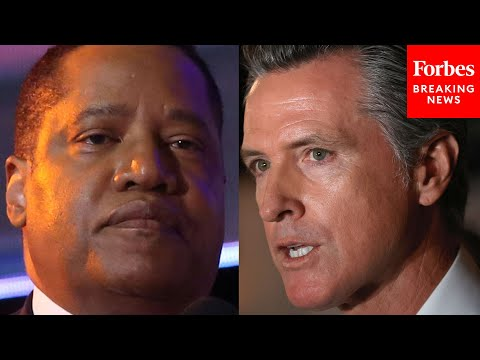 Larry Elder Decries Critical Race Theory In First Press Briefing In 'Recall Newsom' Campaign