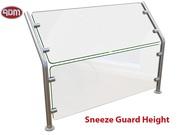 Model EP-36 Sneeze Guard | Sneeze Guard Height