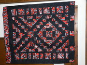 Delta Sigma Theta Quilt (Upscaled from jacket)