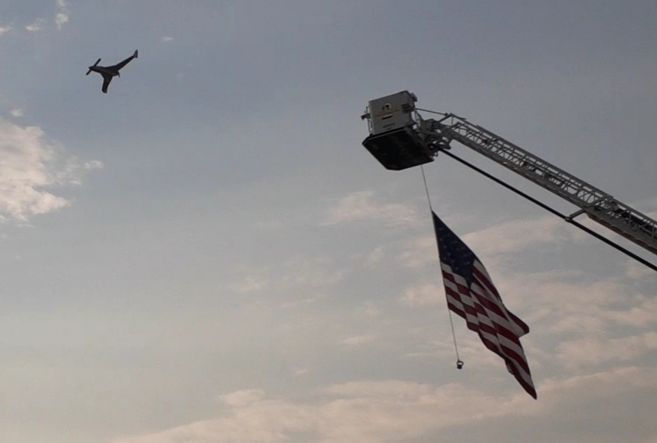 9/11/2021 honoring local first responders at C17