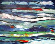 Composition 6014 80*100 cm