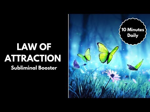 Law of Attraction Subliminal Booster with Binaural Beats