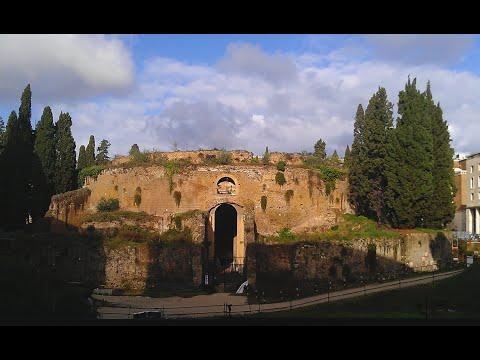 Inside the Mausoleum of Augustus
