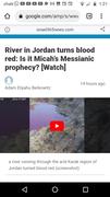 Jordan turns red