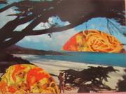 Spaghetti seascape