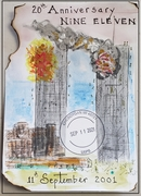Twin Towers in Flames