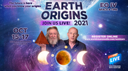 Earth Origins EO IV Space Time Oct 15-17, 2021 Sedona Performing Arts Center