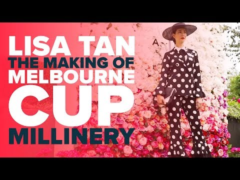 MAKING OF MELBOURNE CUP MILLINERY | Lisa Tan