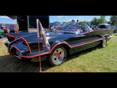 Home Built Batmobile!!! Seen at the 2021 Gasket Goons Hot Rod Bash
