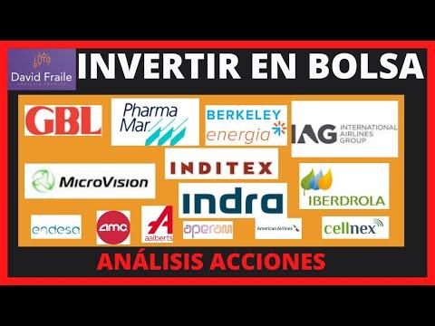 IAG, Pharmamar y varias acciones del Ibex 35 y otras bolsas