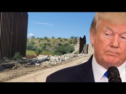 """😠 OH MY...LOOK WHAT BIDEN HAS DONE TO OUR """"TRUMP"""" WALL! AND BTW- OUR ENEMIES ARE NOW FIRING MISSILES"""