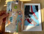 Critical mail art & Image Text collage catalogue