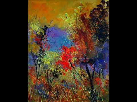 """""""Automne"""", peintures de Ledent, avec """"valse triste"""" de Sibelius"""