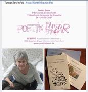 Le premier salon de la poésie à Bruxelles