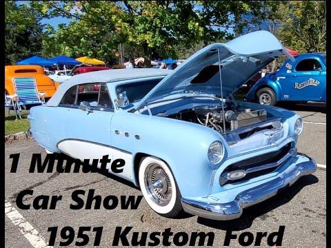 1 Minute Car Show 1951 Ford Kustom Custom